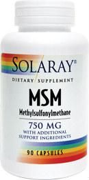 Solaray MSM Metilsulfonilmetan