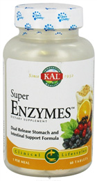 Scapa de durerile de burta si de balonare cu Super Enzymes