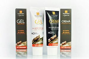 Beneficiile masajului terapeutic cu Crema sau Gelul cu venin de Vipera ammodytes